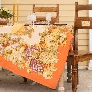 April Cornell Tablecloth Autumn Gathering 54x54